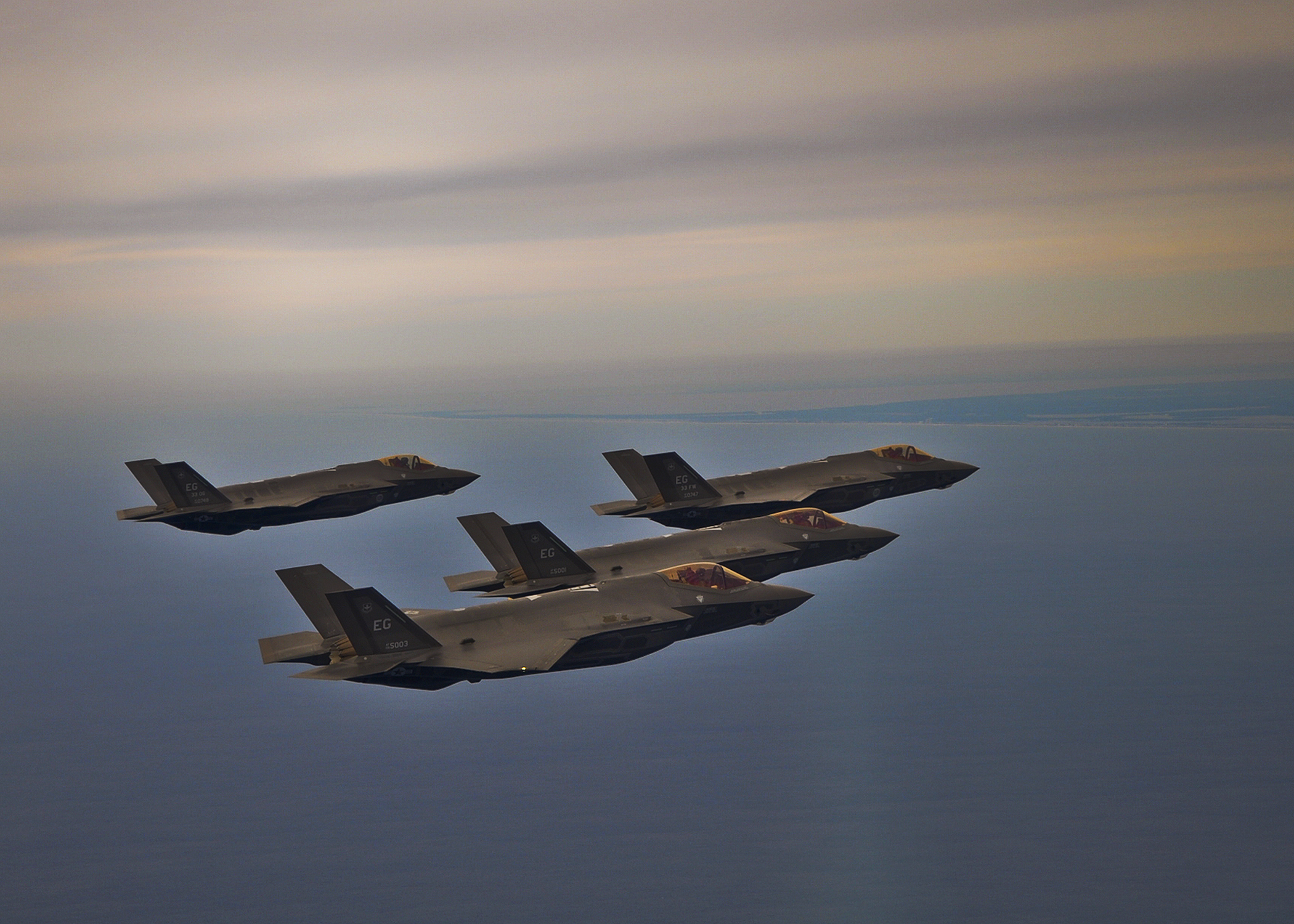 The Air Force's F-35A