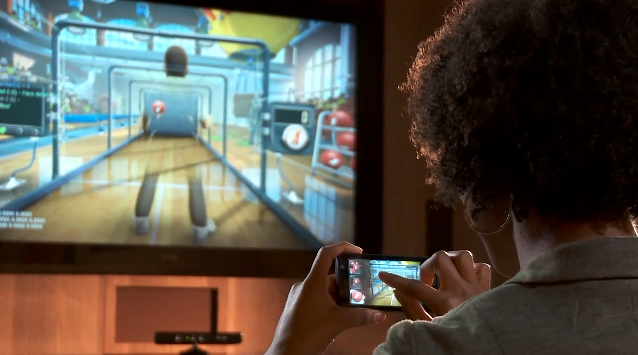 Squaring off against Kinect opponents with your Windows Phone 7 device, from the couch.