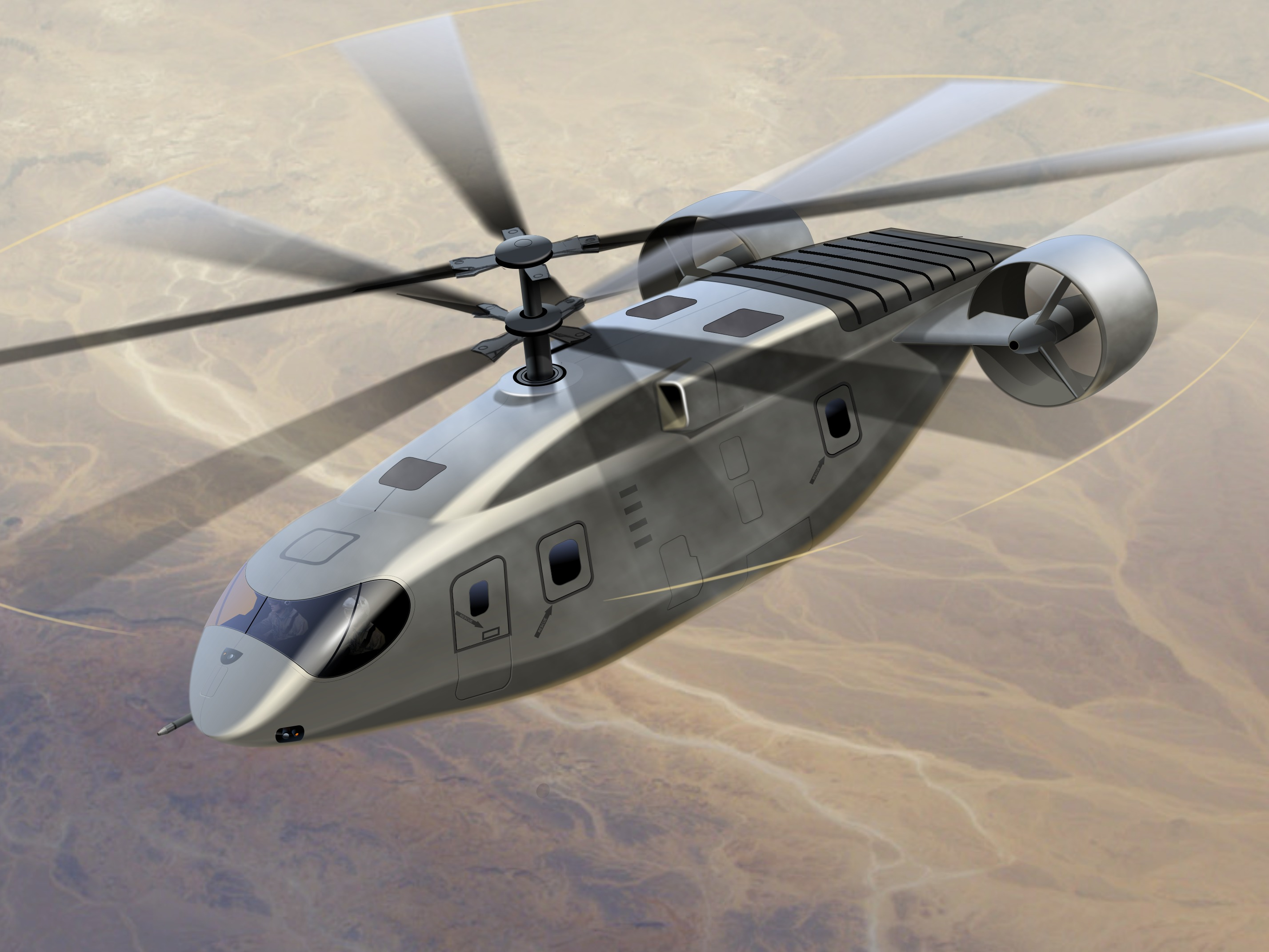 AVX Aircraft concept helicopter