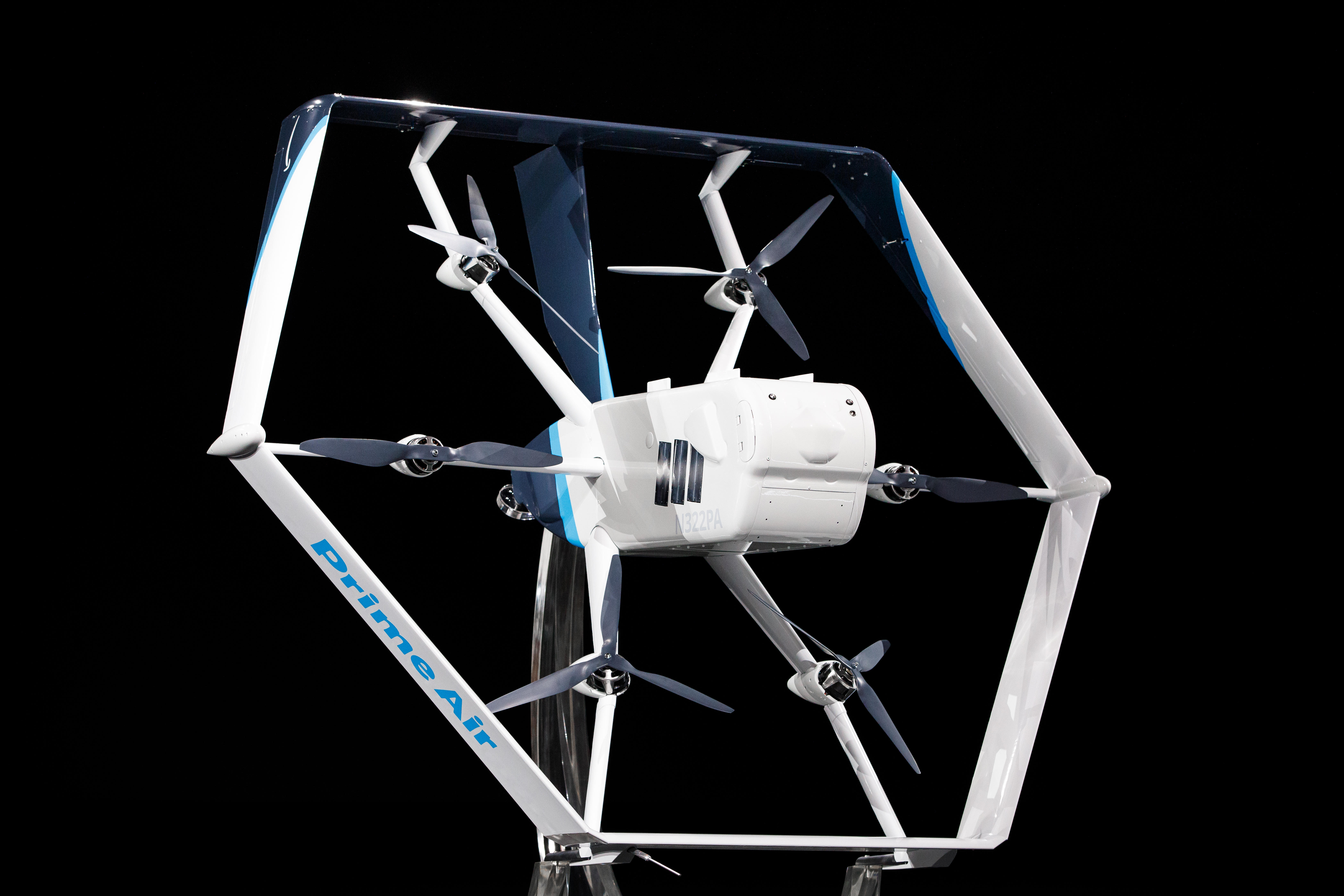 Amazon Prime Air Drone revealed at 2019 re:MARS conference