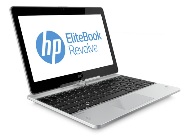 Upcoming ultrabook 'convertibles' like HP's Revolve will likely get Haswell processors that can take advantage of Windows Blue.