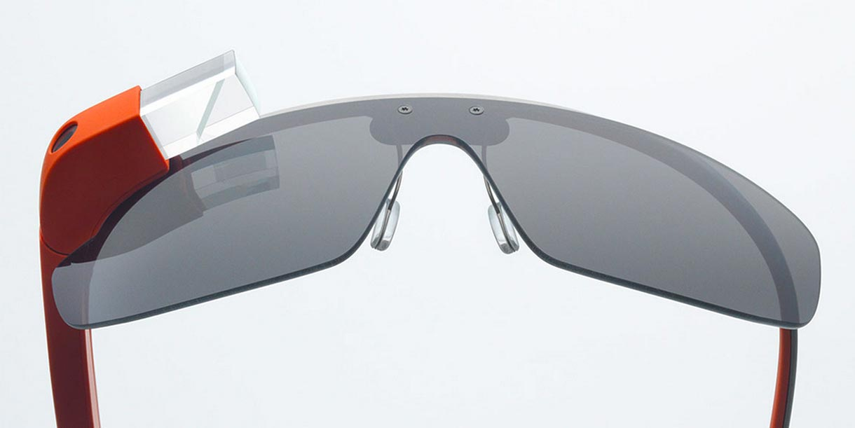 """Google's Project Glass electronic eyewear is """"strong and light,"""" Google said."""