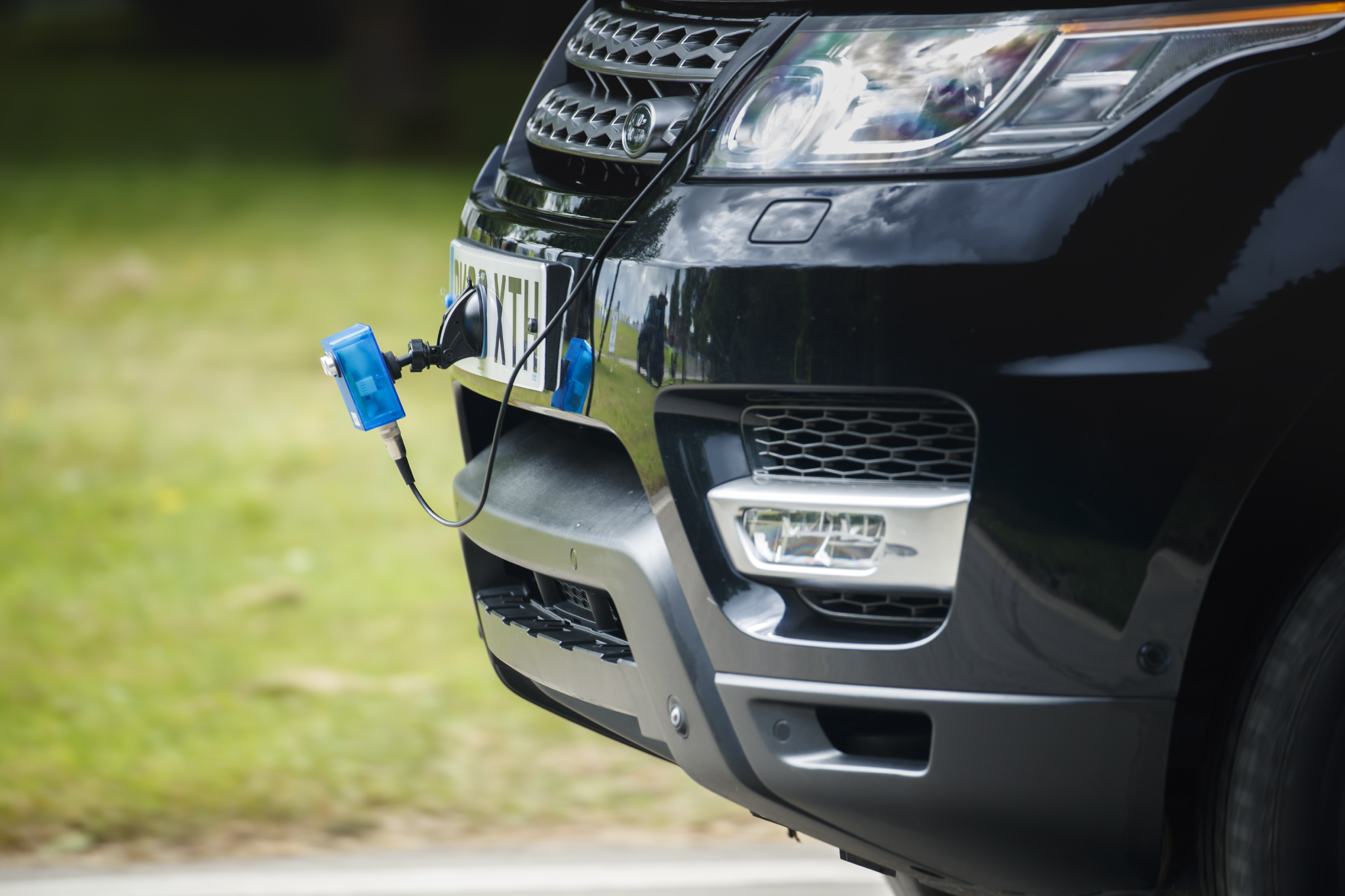 Land Rover Surface ID development rig