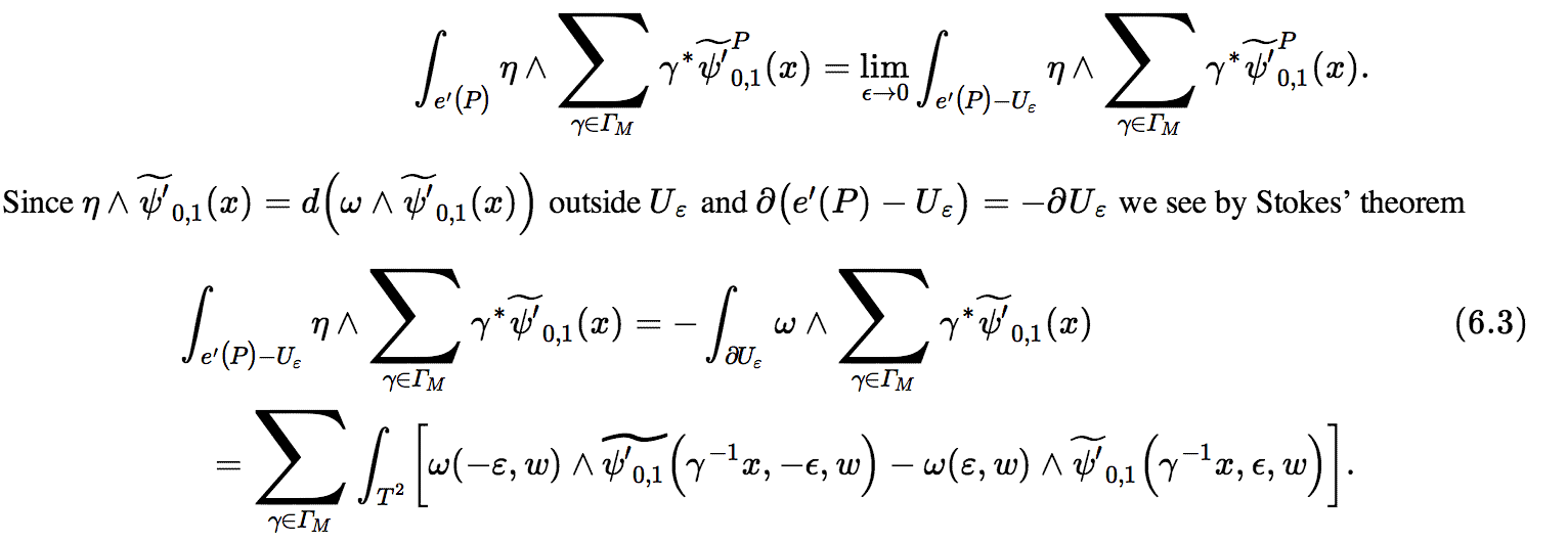 """This Web version of a paper by J. Funke and J. Millson, """"The Geometric Theta Correspondence for Hilbert Modular Surfaces,"""" uses MathML to show equations and other mathematical expressions. It's shown here rendered using the MathJax software for bringing MathML to browsers that don't support it natively."""