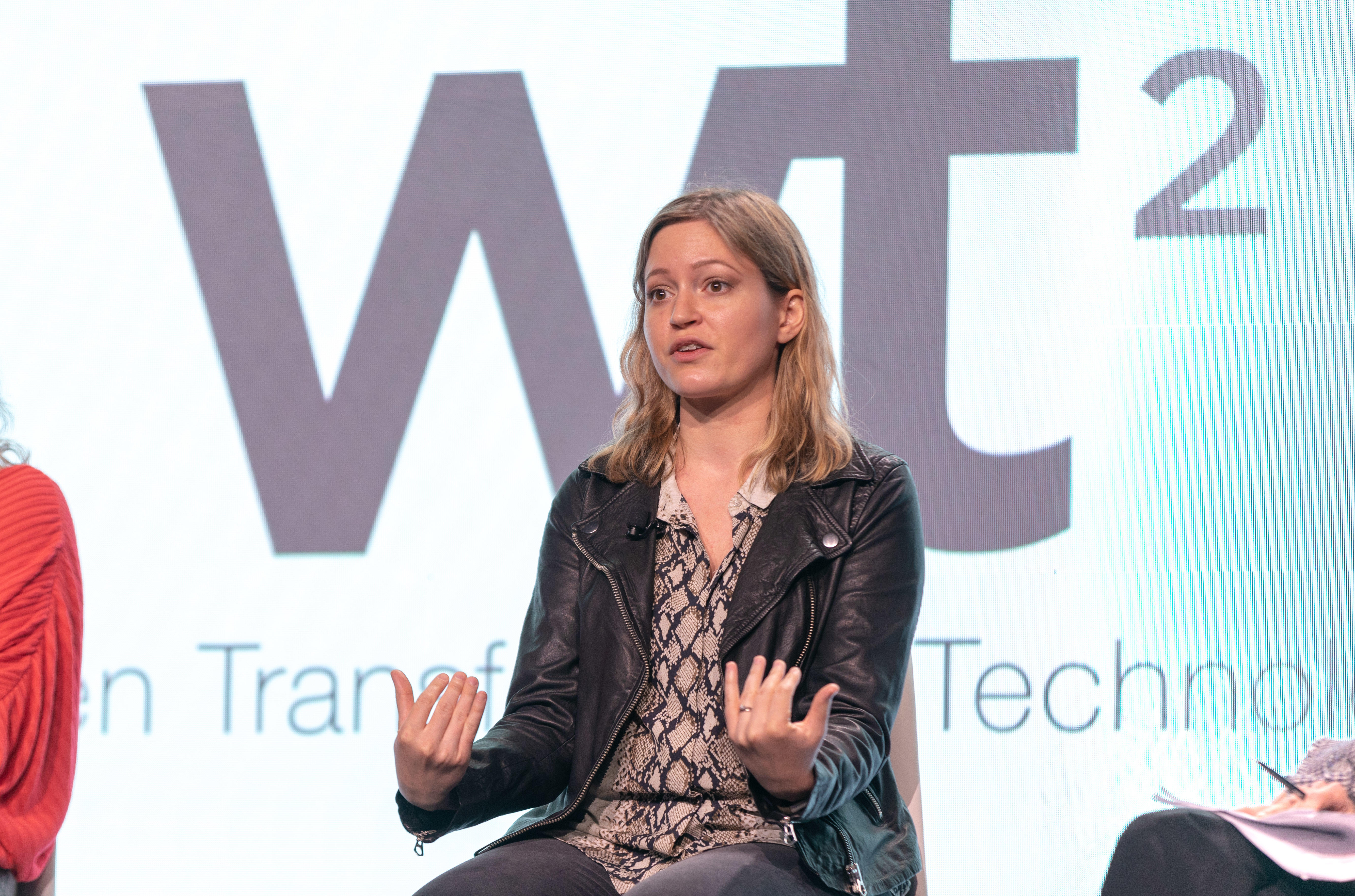 Susan Fowler at Women Transforming Technology conference