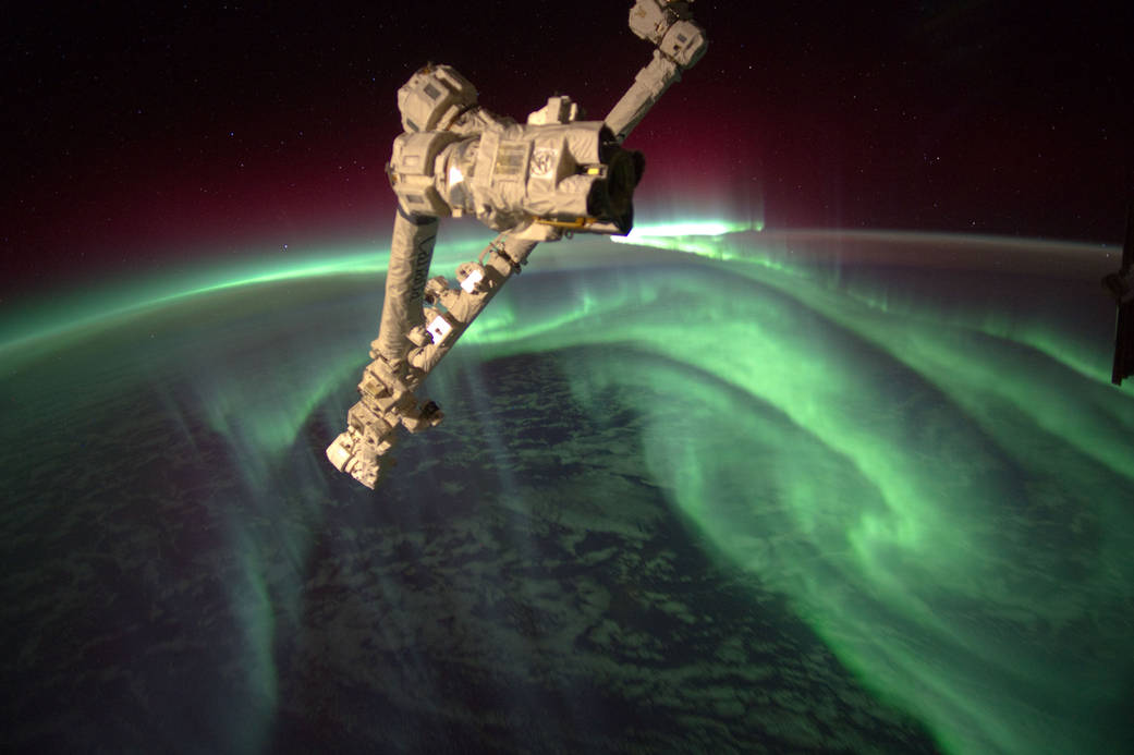 ISS Expedition 32 sees the lights