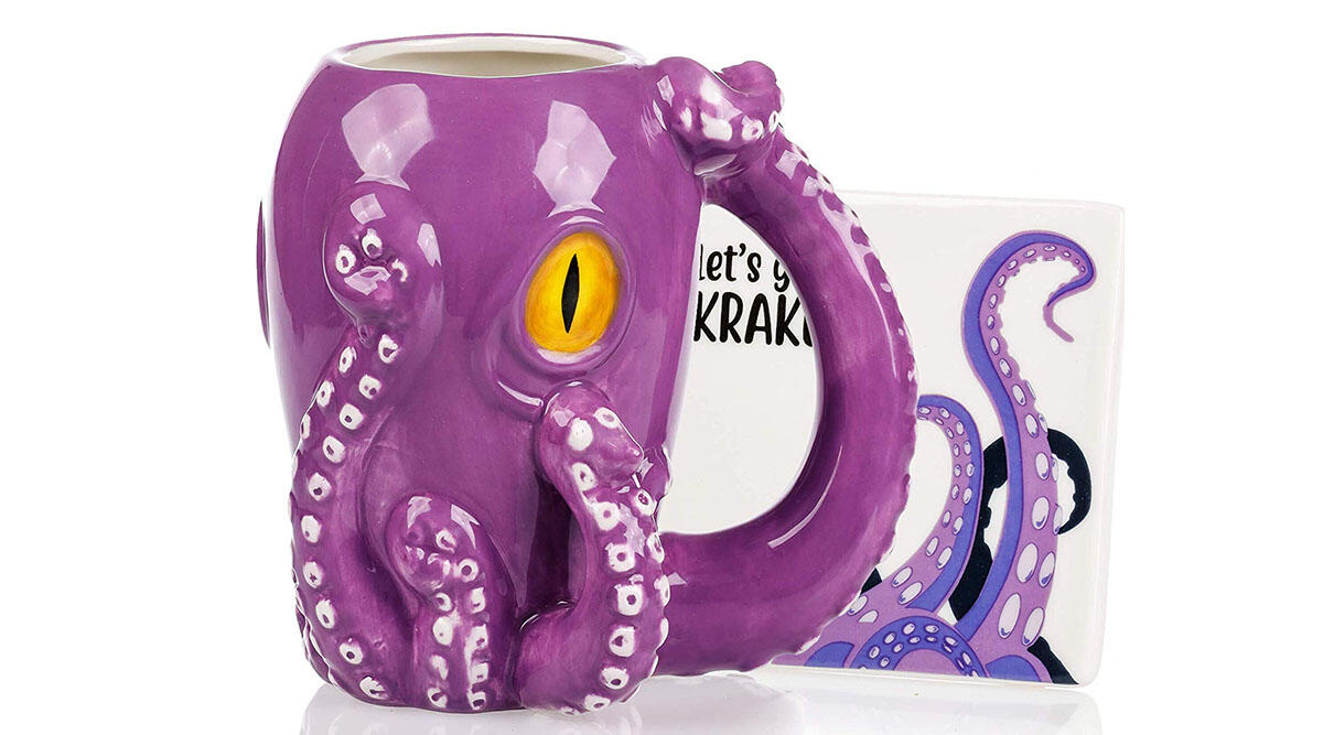 This super rad octopus mug 🐙
