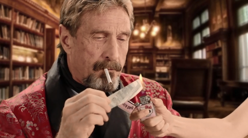 John McAfee charges over $100,000 for tweets on cryptocurrency - CNET