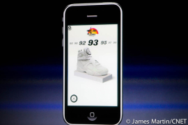 A Nike ad created with iAd was demoed during Apple's iPhone 4.0 event.