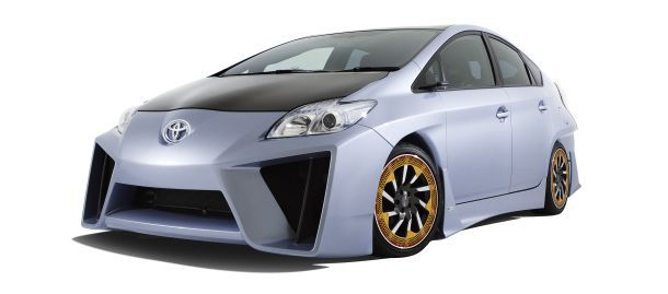 The C&A Prius concept is a matte black paint job away from being a wannabe Lamborghini Reventon.