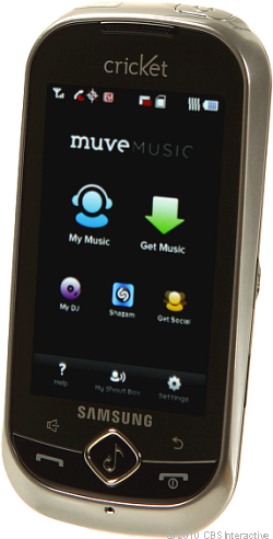 Samsung Suede with MuveMusic