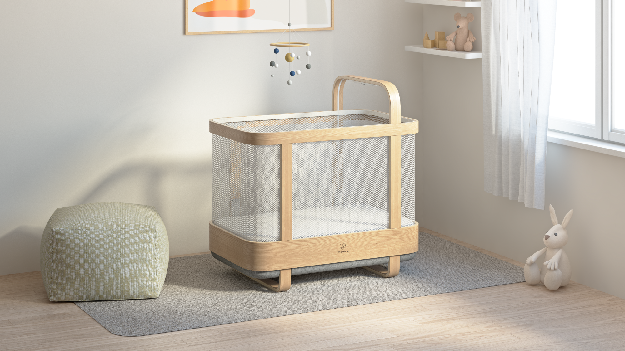 Cradlewise smart crib