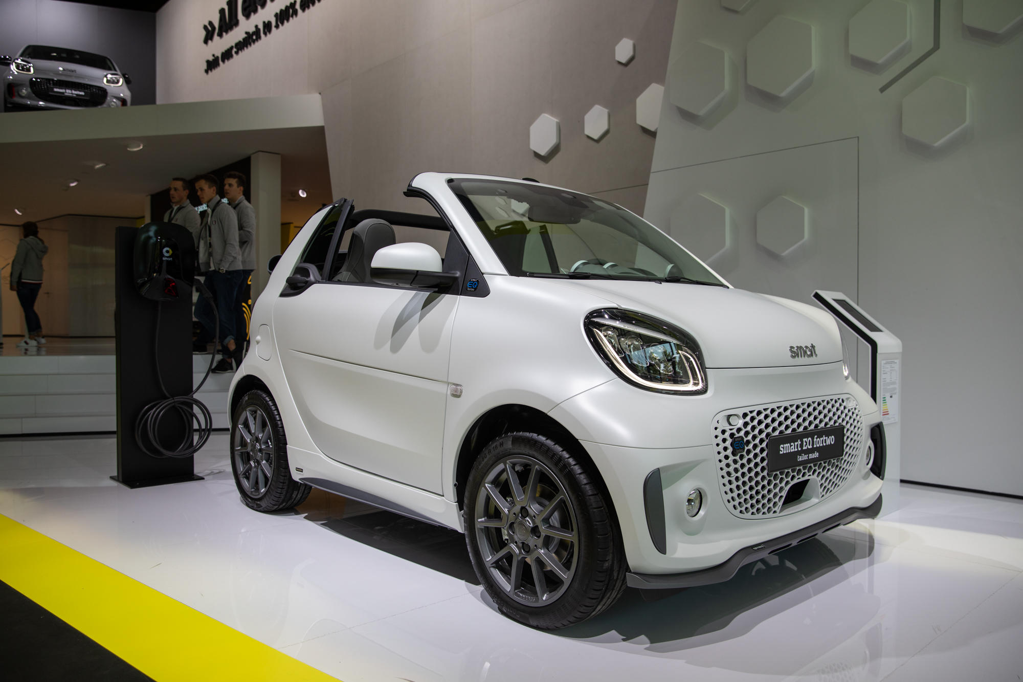 Smart ForTwo, Cabrio and FourFour