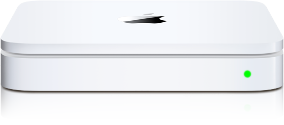 Apple's Time Capsule, the wireless router meets networked storage solution.
