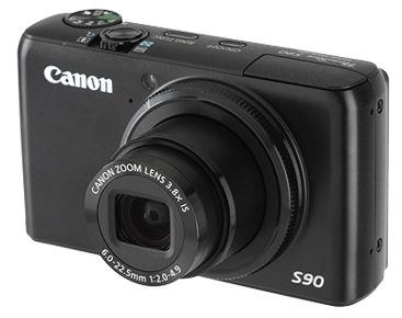 Canon's $429 PowerShot S90 is one of a host of higher-end compact cameras that produce raw images.
