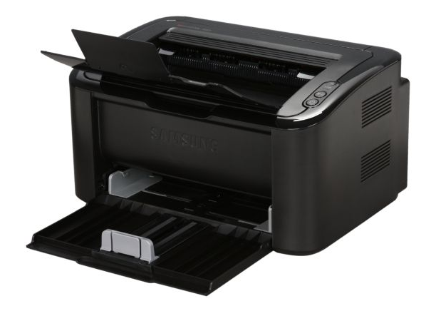 Samsung's ultra-compact ML-1665 laser printer is perfect for homes and small offices. (OK, very small offices.)