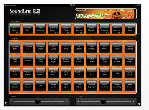 Launch sound effects with your keyboard