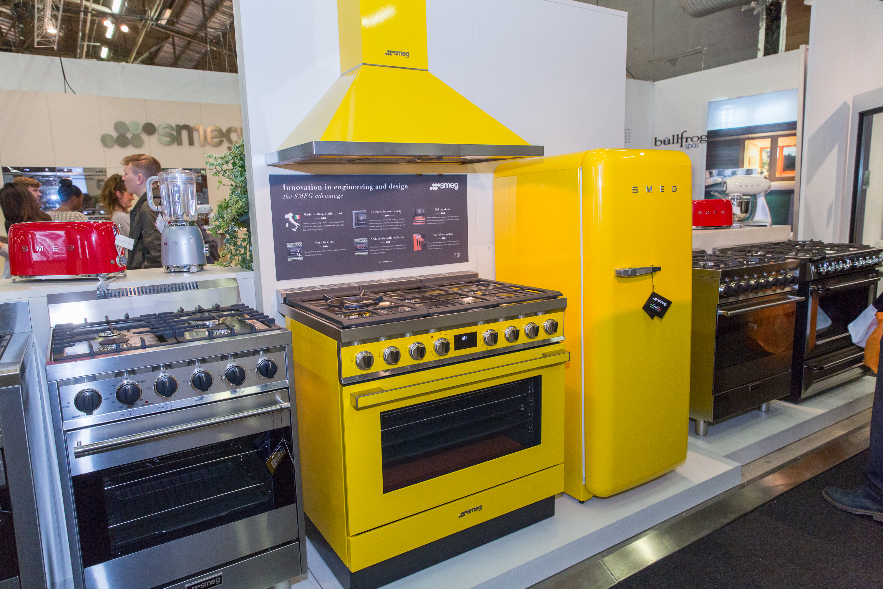 Smeg kitchenette