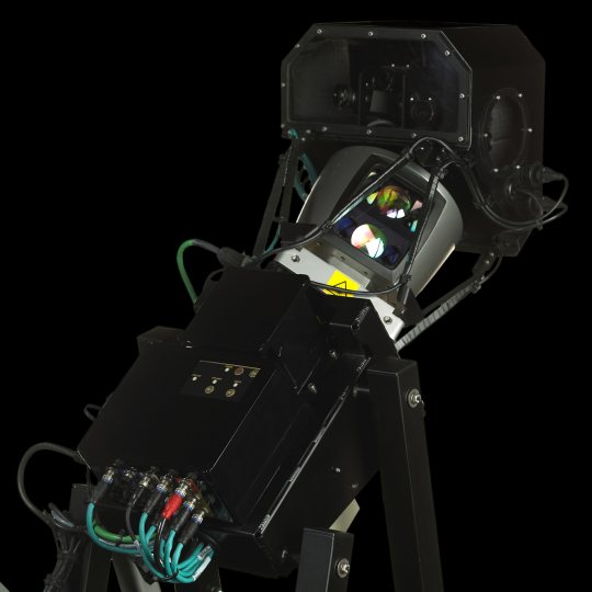 This Navteq system uses 64 lasers to gather 3D data about the world from mapping vehicles.