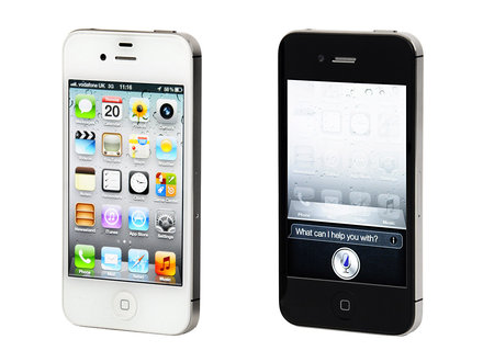 iPhone 4S front