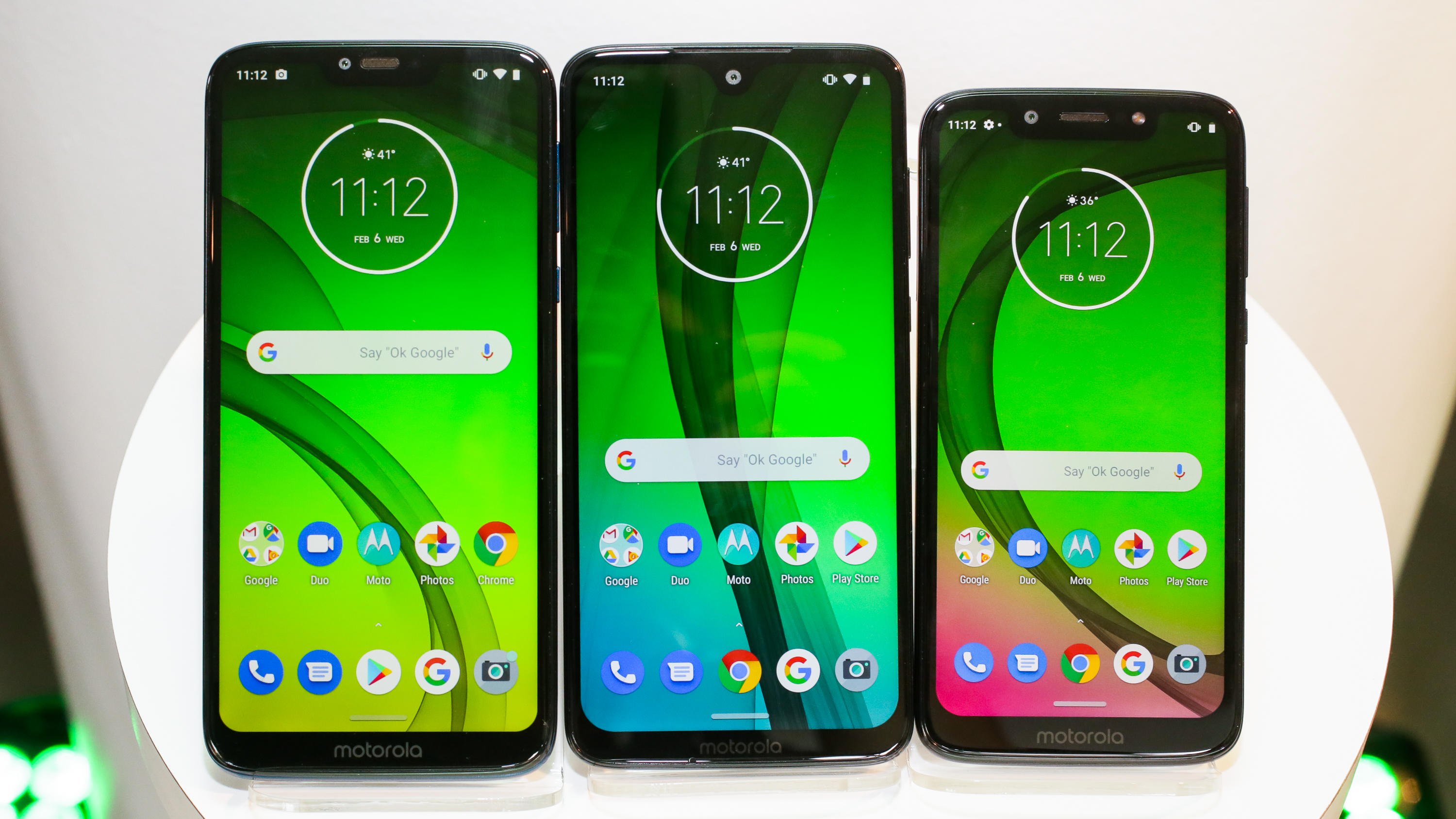 Moto G7 Power, G7 and G7 Play