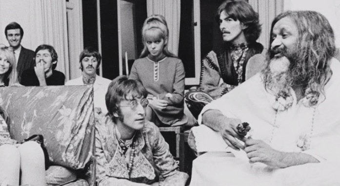 The Beatles knew a little something about meditation.