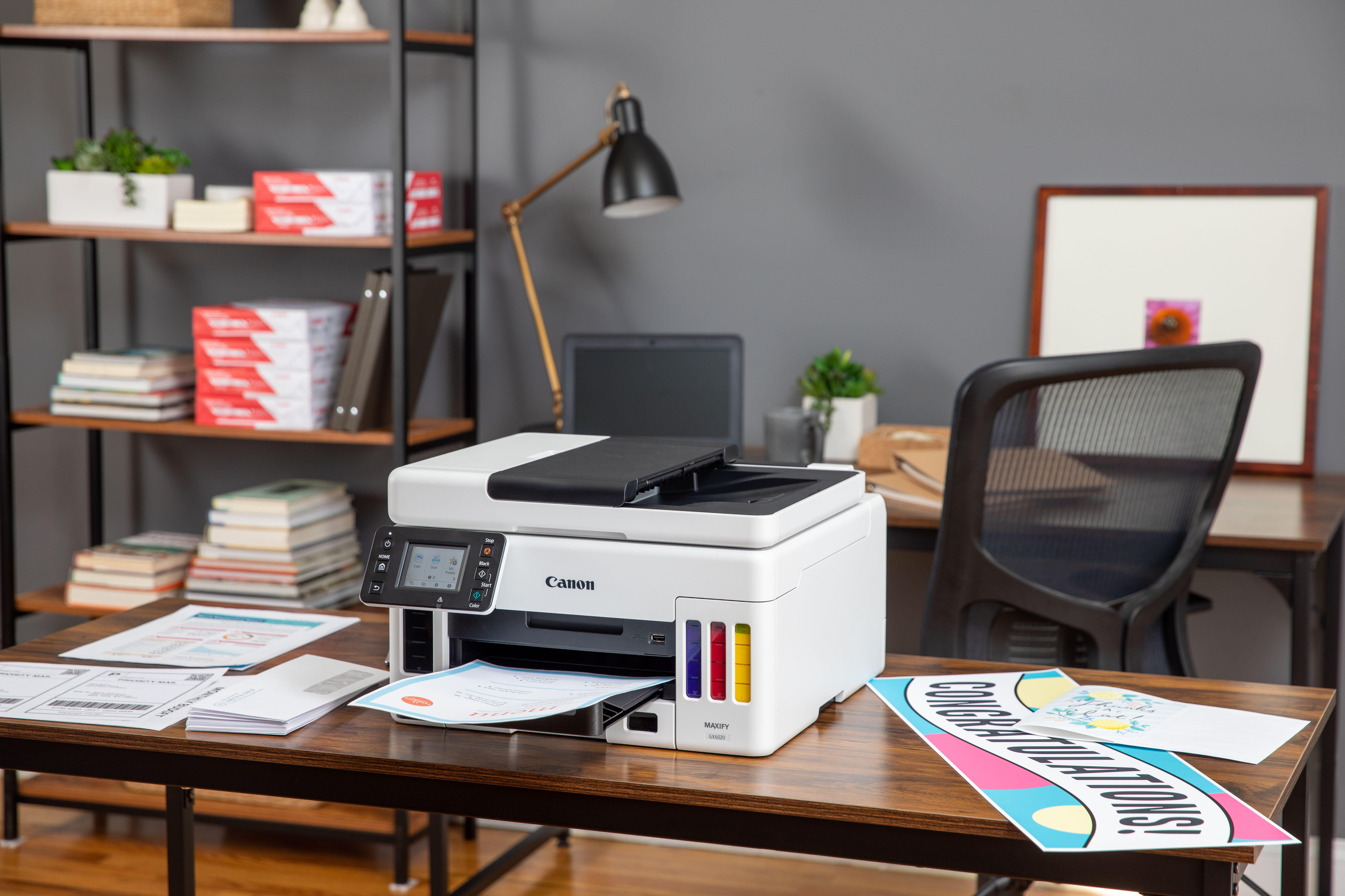 Canon's new printers cater to first-time users, photo enthusiasts and office workers