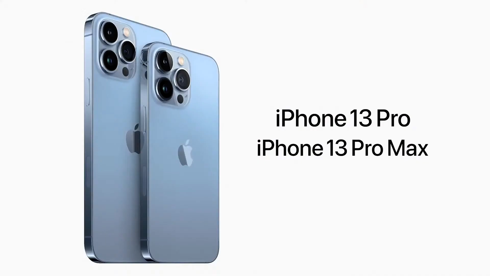 Video: Apple reveals iPhone 13 Pro and 13 Pro Max