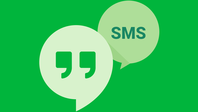 Hangouts with SMS
