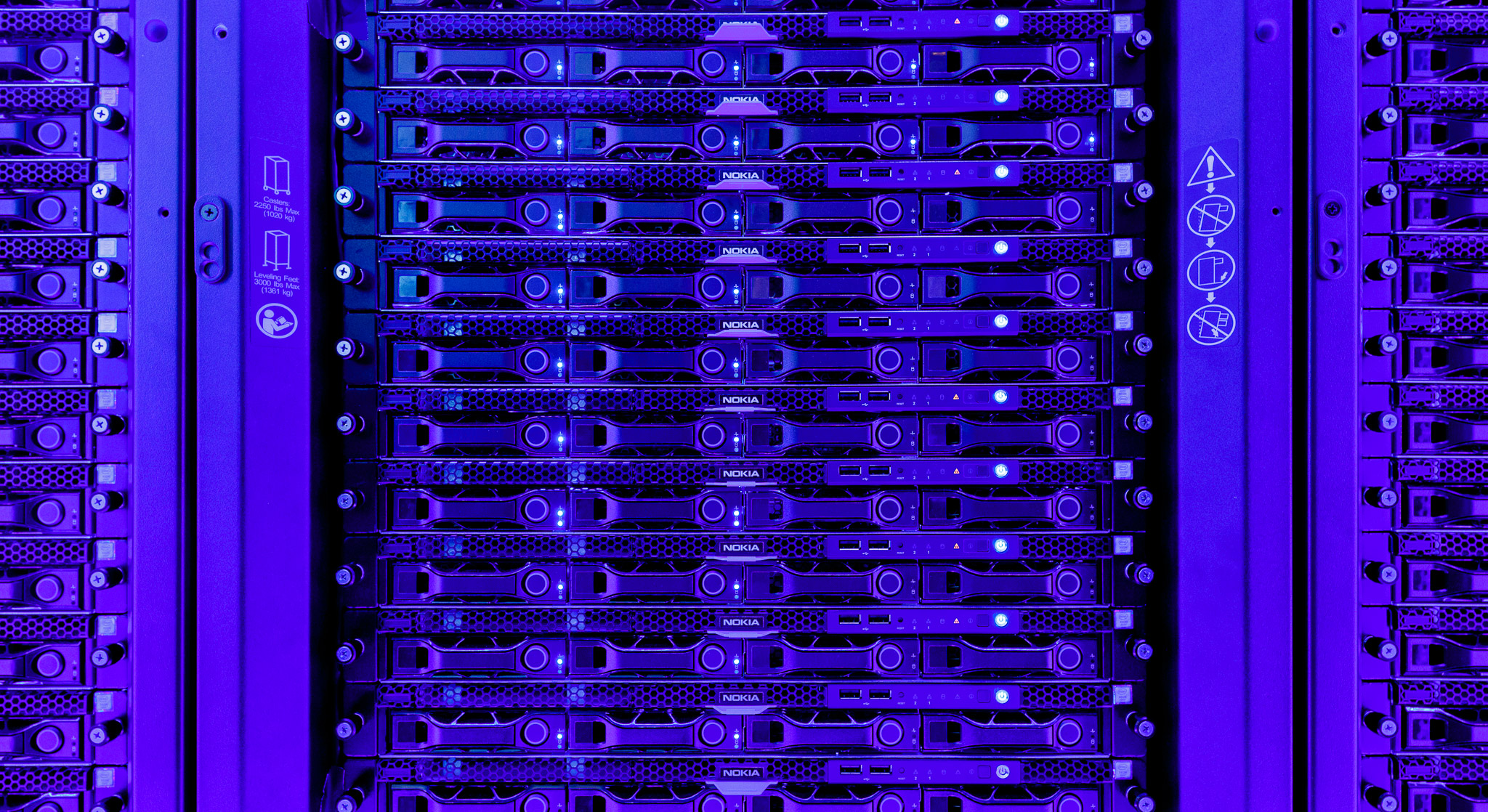Most AI computing happens in data centers packed with hundreds or thousands of servers.