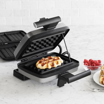 Whatever you favorite waffle happens to be the Croquade Twins Waffle Maker can take you there.