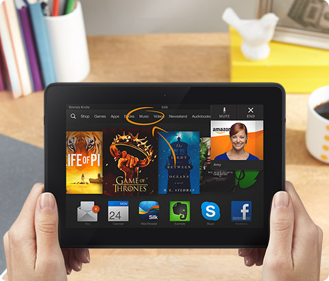 The Amazon Kindle Fire HDX 7 has one of the best tablet displays. It taps a new technology called quantum dots, says DisplayMate Technologies.