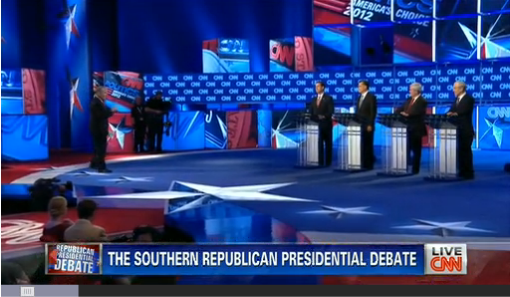 In response to question from CNN's John King, Republican presidential candidates find little to love in SOPA or Protect IP