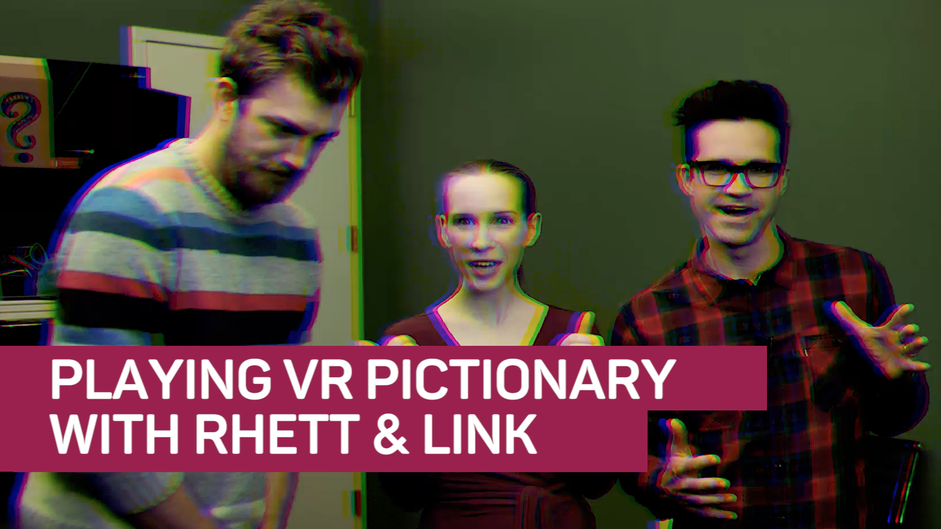 Video: Rhett & Link battle for artistic supremacy -- in VR