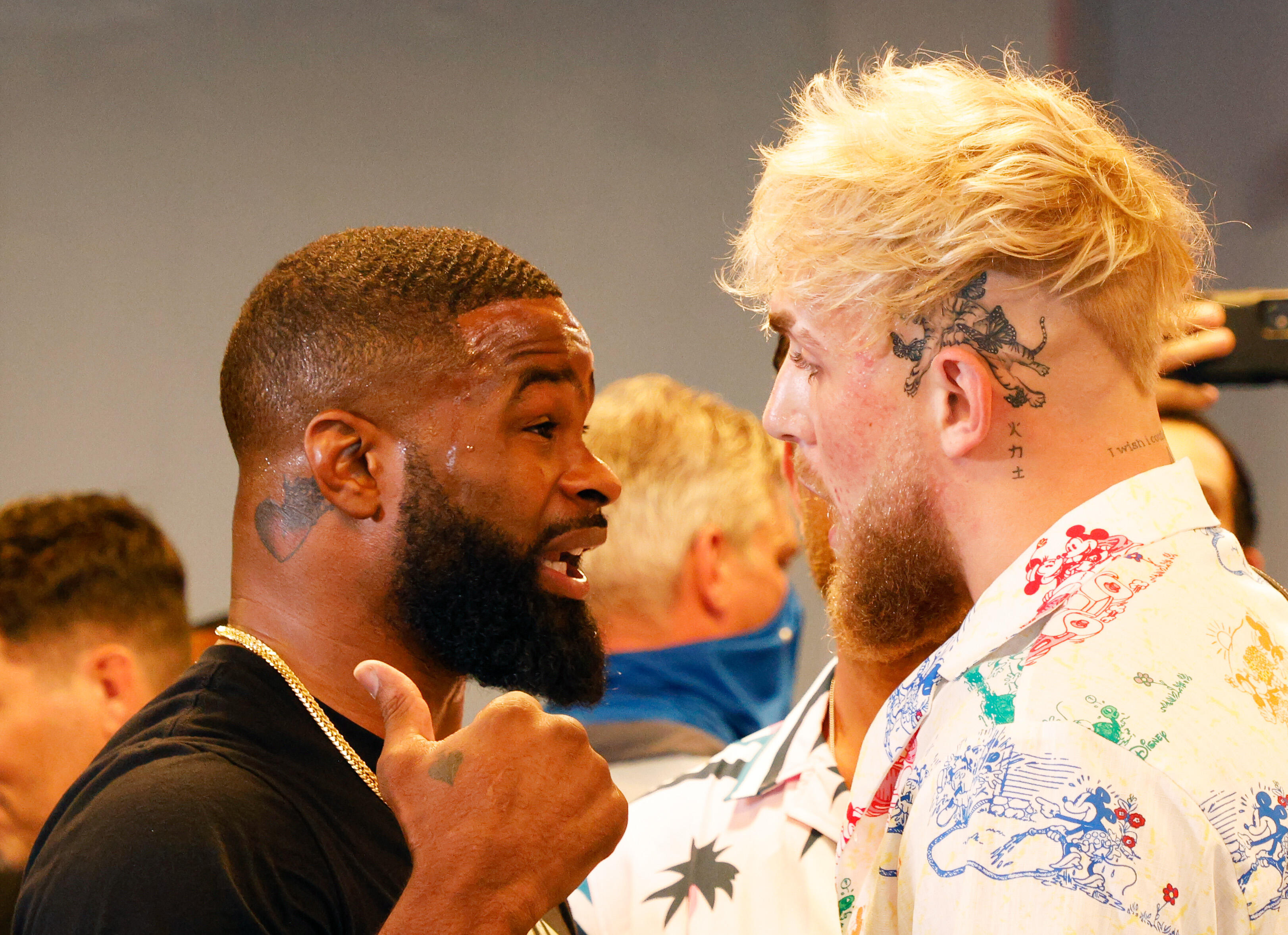 <p>Jake Paul will fight Tyron Woodley on Aug. 29.</p>