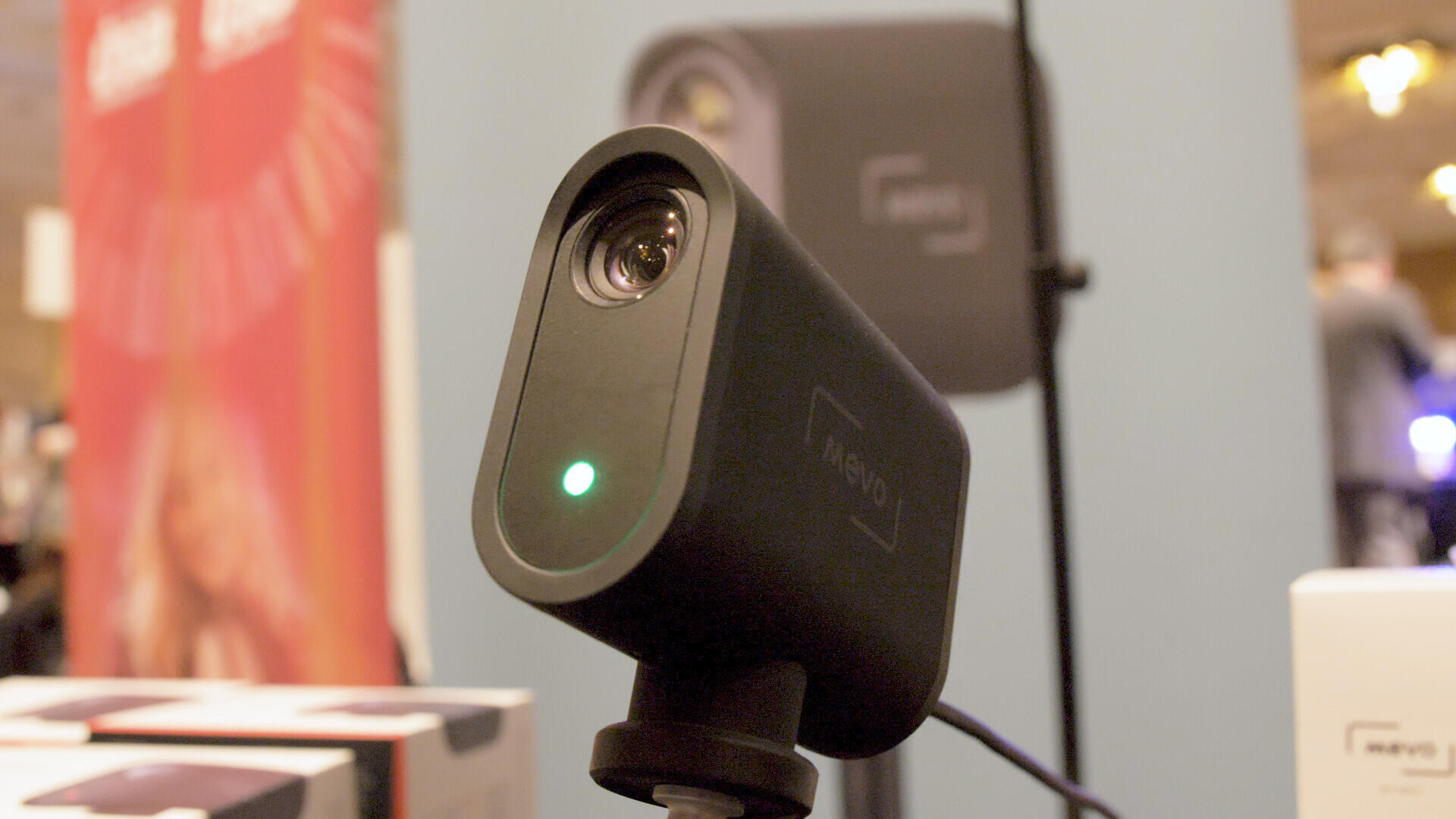 Video: The Mevo Start is a compact cam aimed at HD event streaming