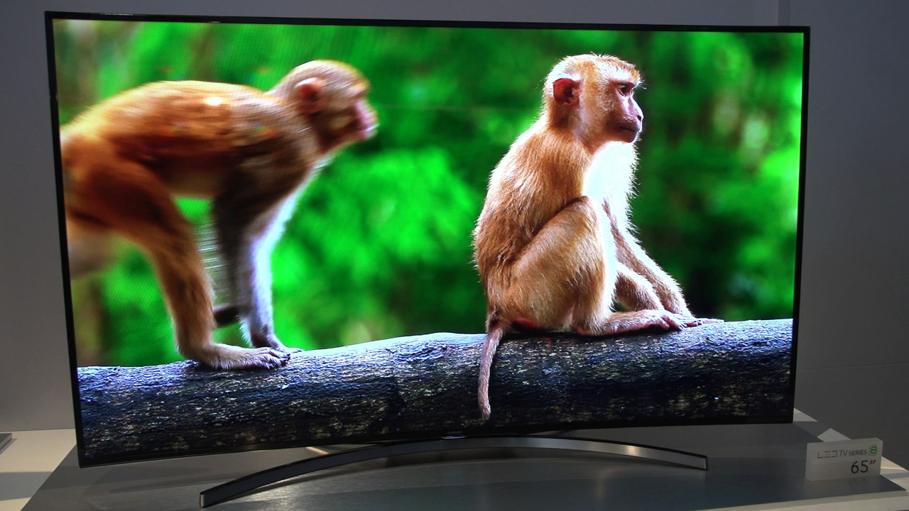 Video: A look at Samsung's H8000 curved 1080p television
