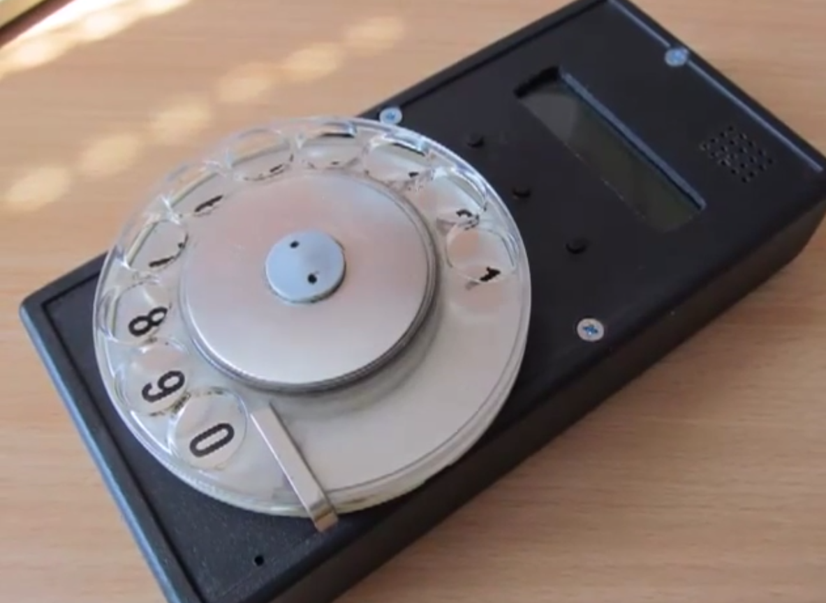 Rotary Cell Phone