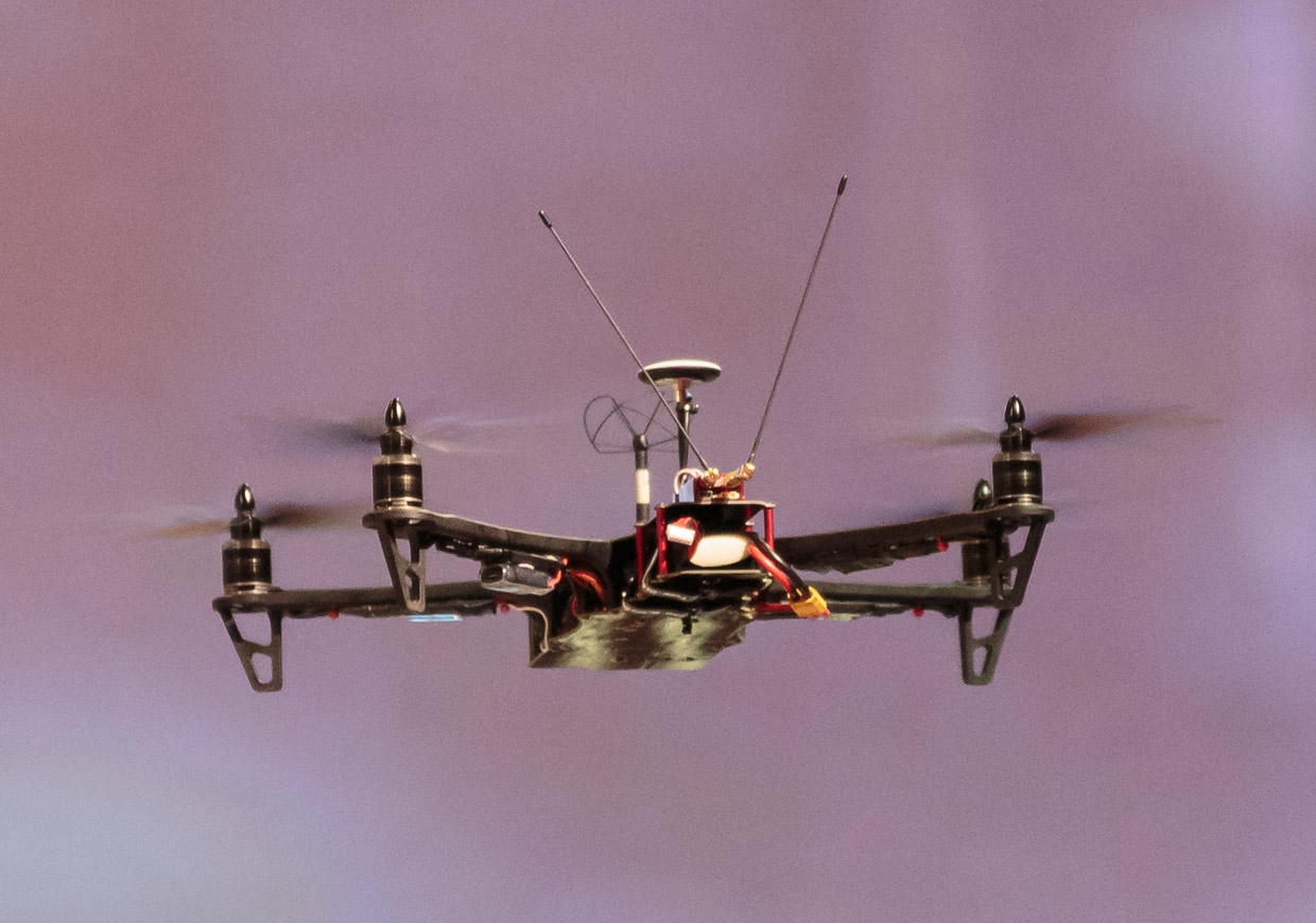 Team BlackSheep's TBS Discovery quadcopter is a drone geared more for hobbyists.
