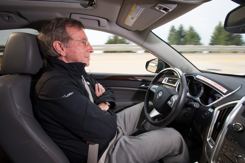 """Cadillac is developing self-driving """"super cruise"""" technology."""