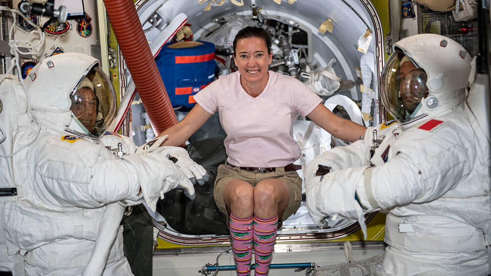 NASA and  Tide team up to do laundry in space