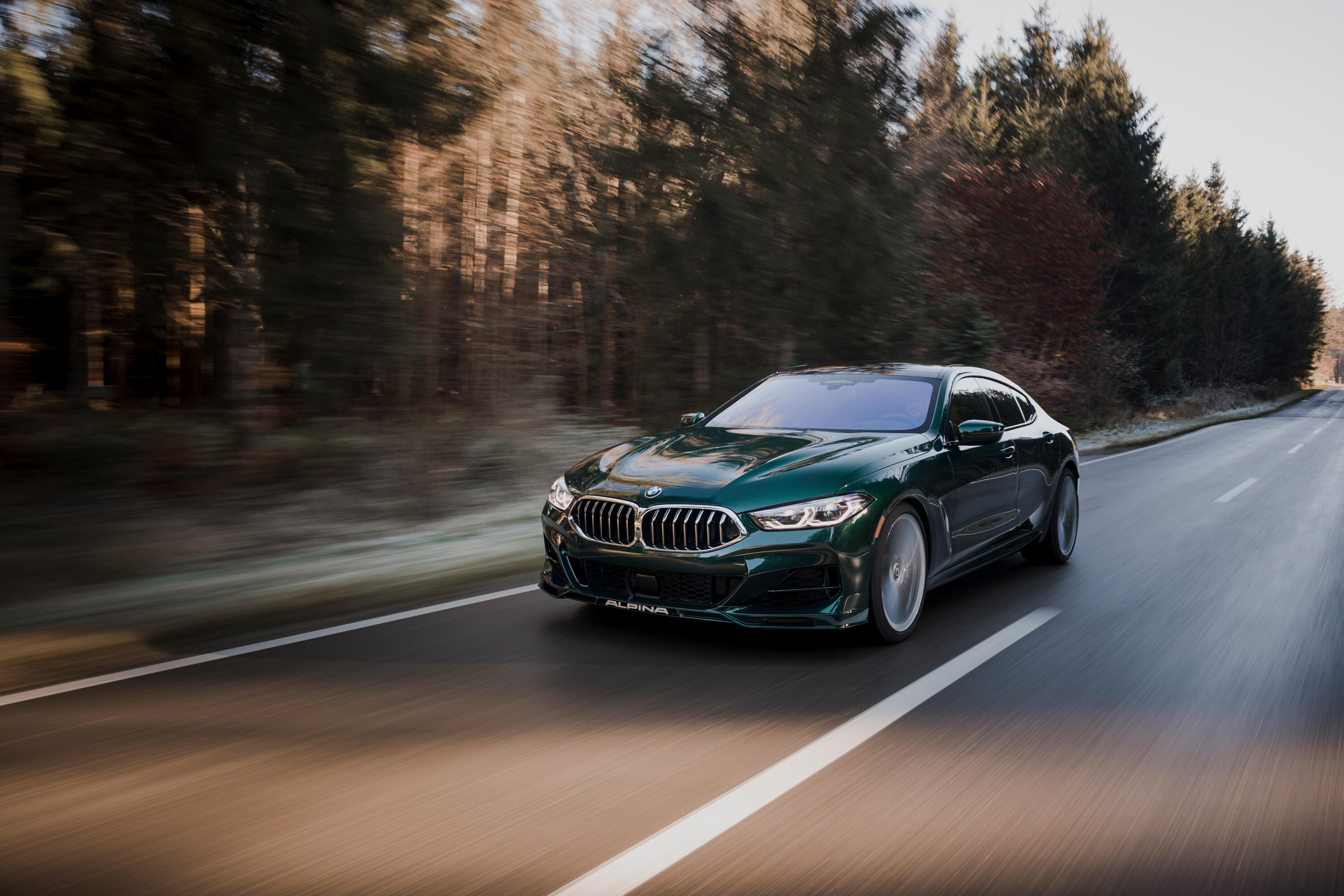 2022 Alpina B8 Gran Coupe is the coolest version of the BMW 8 Series - Roadshow