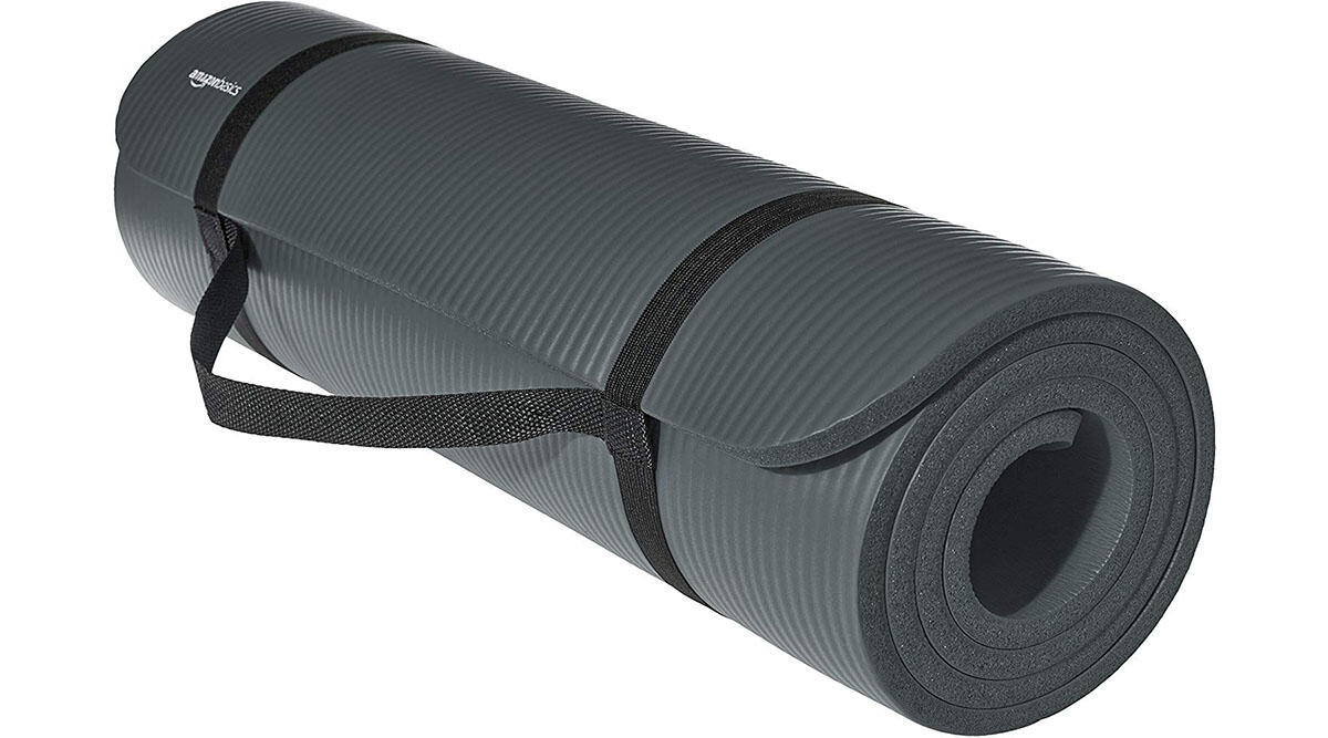 A fresh new yoga mat for in-home workouts ($18.68)