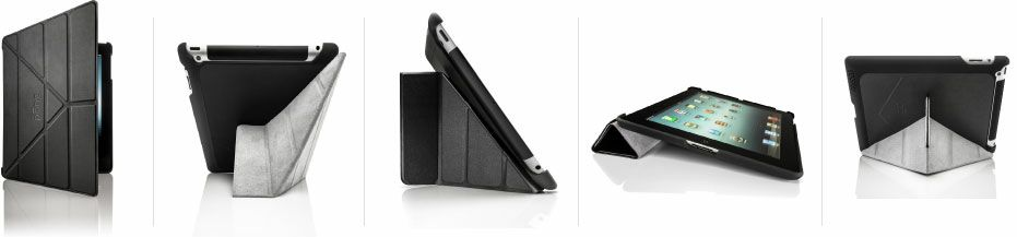 The Pong Research New iPad Case has a smarter cover than Apple's Smart Cover.