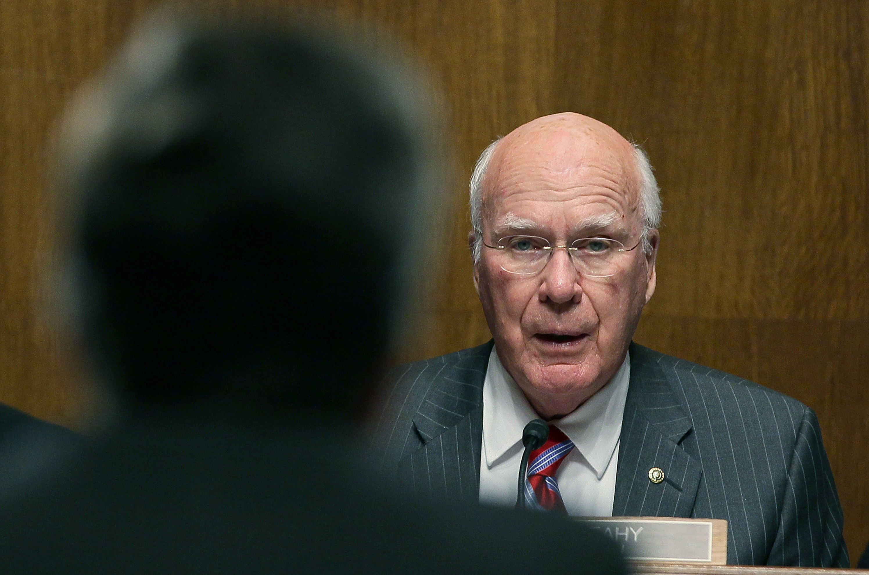 Senate Judiciary chairman Patrick Leahy, whose FISA Accountability and Privacy Protection Act rewrites the ground rules for challenging warrantless demands for customer records from the FBI. A U.S. provider is alarmed.