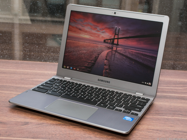 Samsung also launched an updated Chromebook.