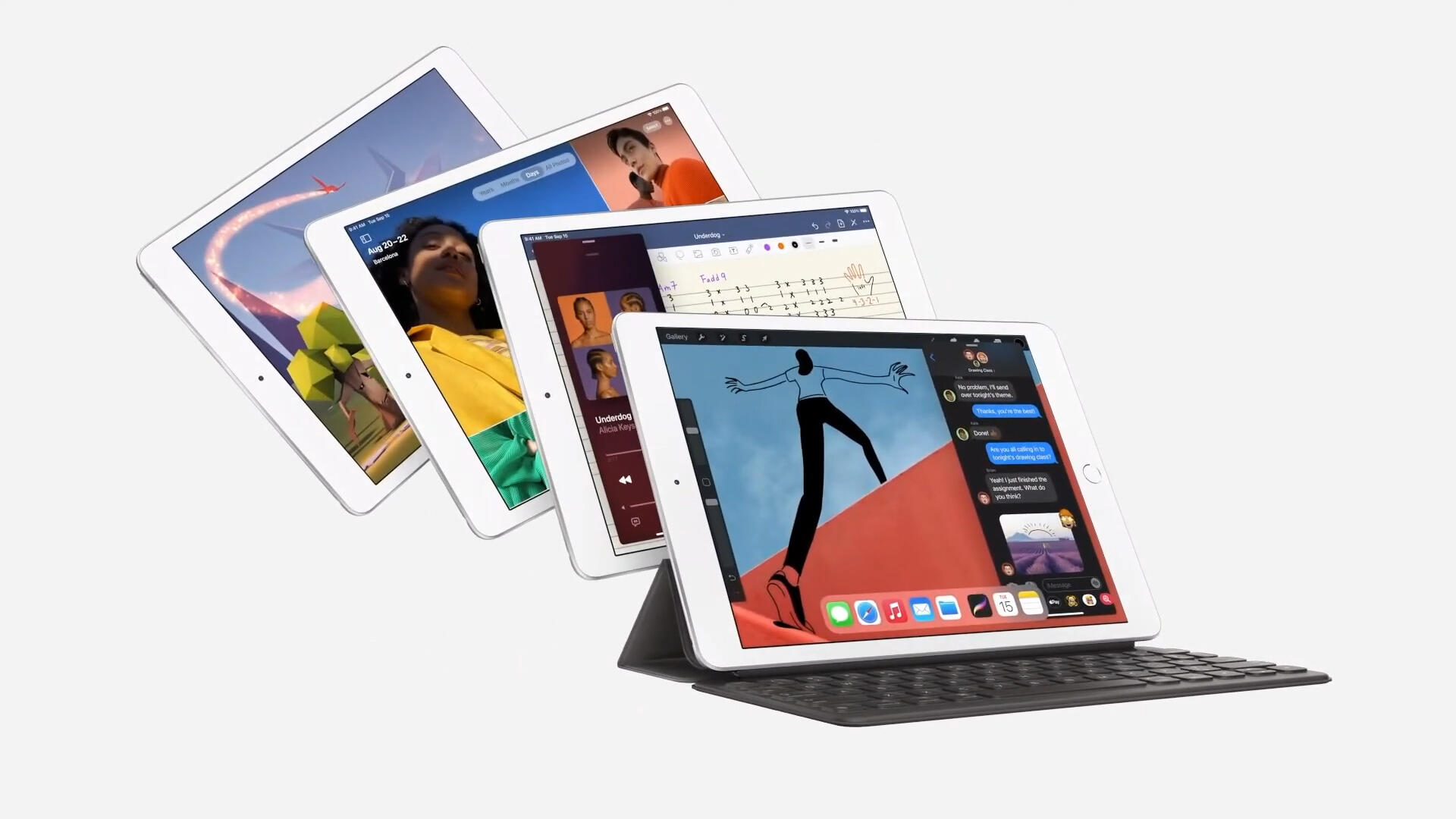 Video: Apple announces 8th-gen iPad