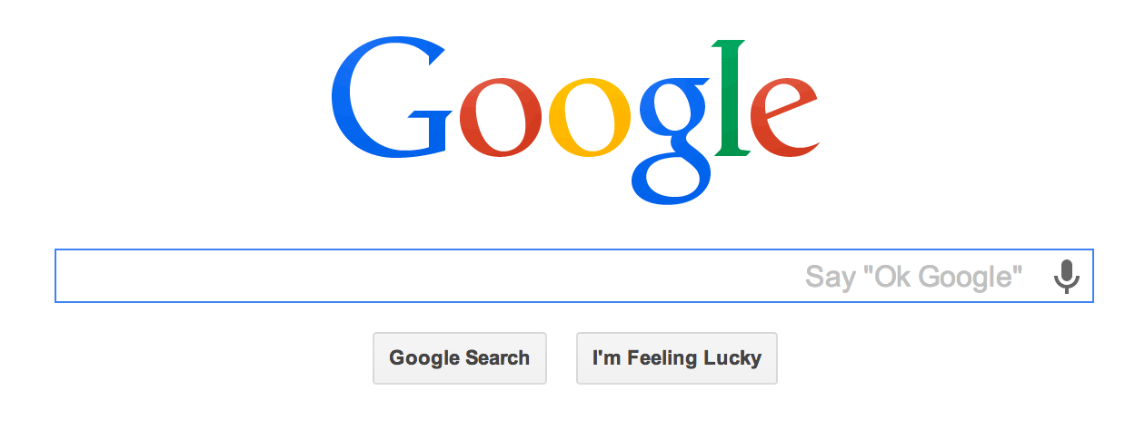 """People can now initiate a search on Chrome OS with the """"OK Google"""" voice-search command. interf"""