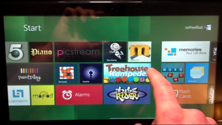 Video: A first, rough look at Windows 8