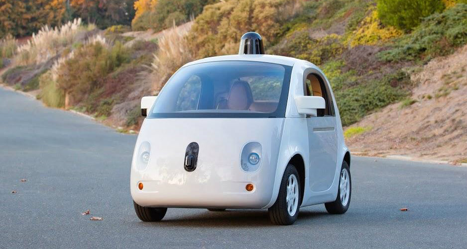 The first fully functional prototype of Google's self-driving car debuted in December 2014.